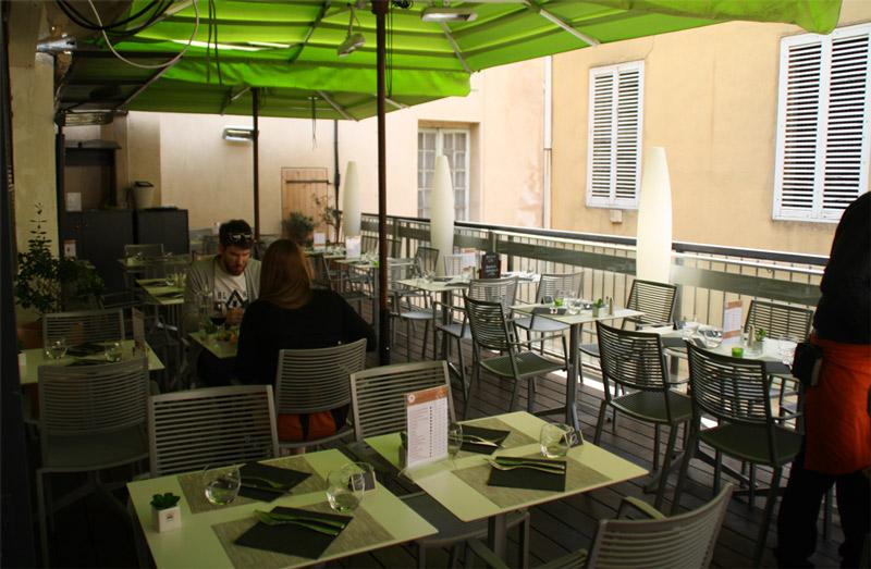 Terrasse cours mirabeau aix en provence